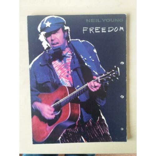 Neil Young Freedom bladmuziek