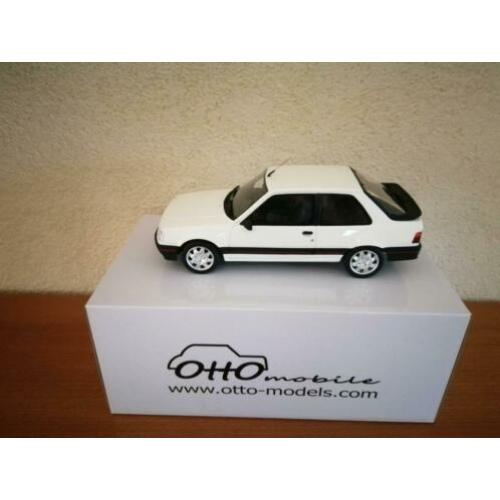 Peugeot 309 GTI ph1 1987 Blanc Meije ottomobile nieuw in OVP