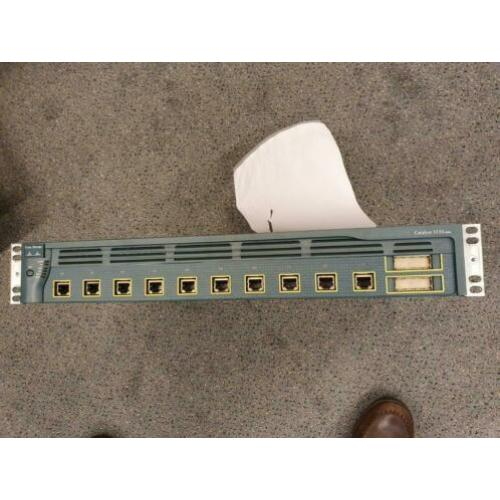 cisco 3550 gigabit 10 poorts switch