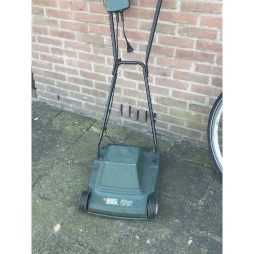 Black&decker grasmaaier ,type GR120 ,werkt perfect